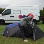 Cobra 3 tent 15 mins later