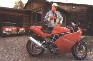 hunter thompson ducatti