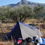 Cobra 3 tent greece wild camping