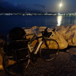 Tifosi CK7 bike in moonlight